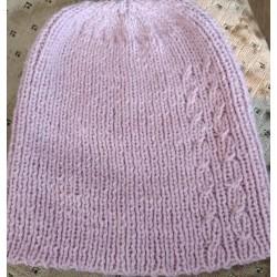 Набір шапка і шарфик в'язані спицями