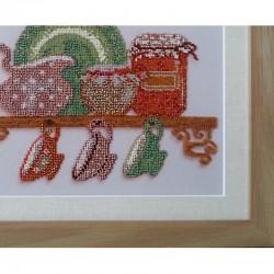 Рама картины Кантри выполнена из качественного багета