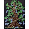 """Качественно выполненная вышивка бисером картины """"Дерево достатка"""""""