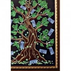 """Картина """"Дерево Достатку"""" оформлена в раму якісним багетом в багетній майстерні"""